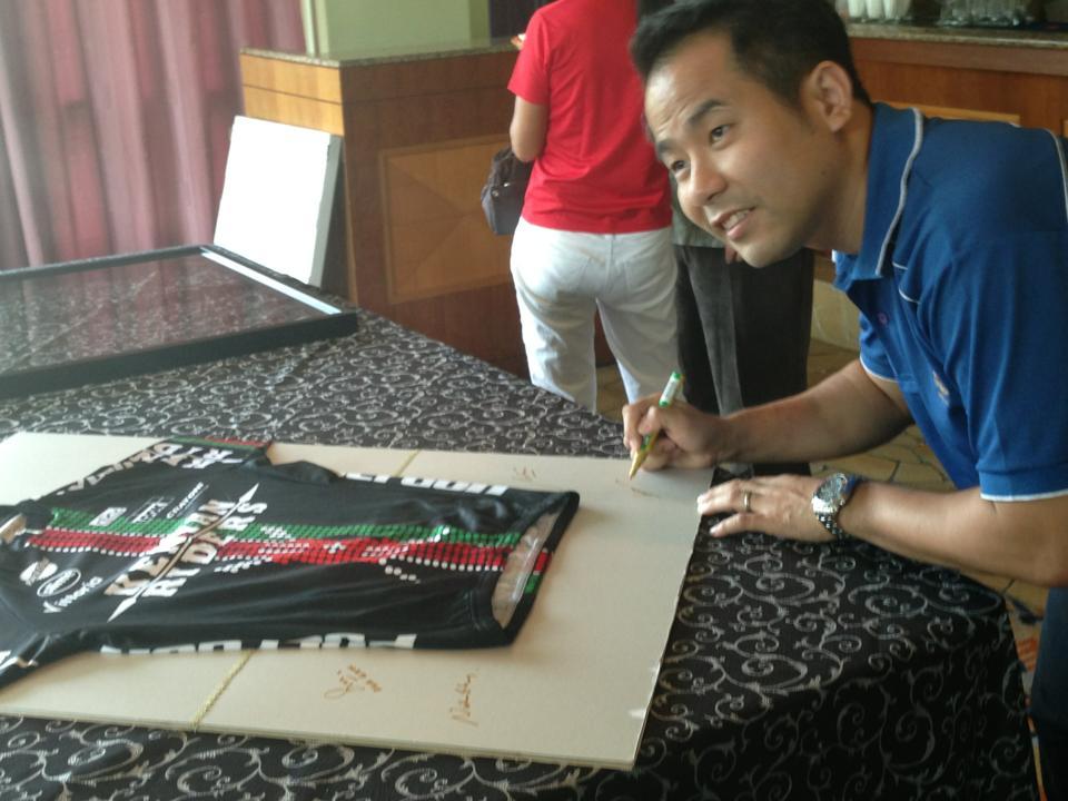 Kenya Riders Jersey Signing (cycling)