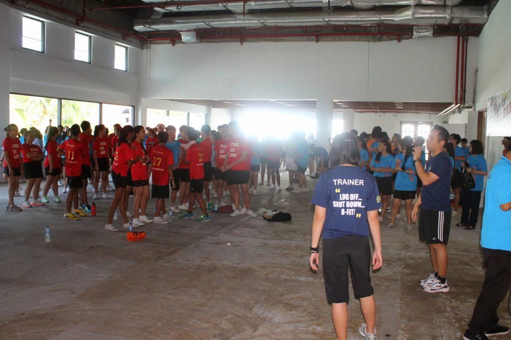 Mass Workout at OCC