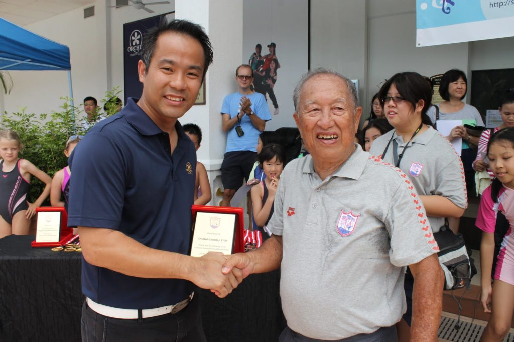 The late Mr Foo Chee Han (President of SSTA)