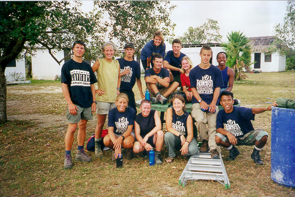 Raleigh International - Belize 1999 - Trekking Phase